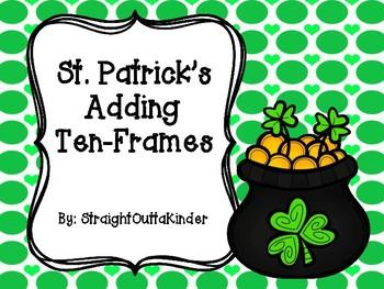 St Patricks Adding Ten-Frames