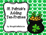 St Patricks Adding Ten-Frames
