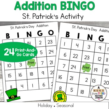 St Patricks Addition BINGO