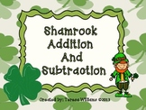 St Patricks Addition and Subtraction Fun