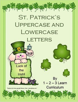St. Patrick's Alphabet Cards and Writing Book