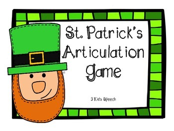 St Patrick's Articulation Game