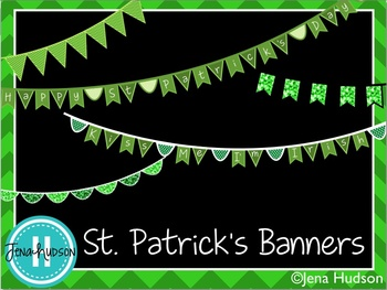 St. Patrick's Bunting Banners