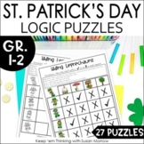 St. Patrick's Day Logic Puzzles   DIGITAL AND PRINT