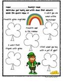 St. Patrick's Buddy Interview Activity