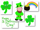 St Patrick's Clip Art/Jpeg - for commercial or personal use.