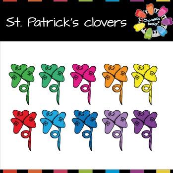 St. Patrick's Clovers FREEBIE
