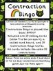St. Patrick's Contraction Bingo Common Core
