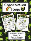 St. Patrick's Contraction Bingo Common Core