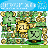 St Patricks Counting Clipart