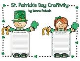 St. Patrick's Craftivity-If I were a leprechaun/I am lucky