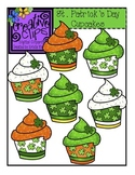 St. Patrick's Cupcakes {Creative Clips Digital Clipart}