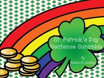 St Patrick's Day Sentence Scramble