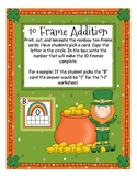 St Patrick's Day 10 Frames. Ways to Make 10 and Addition