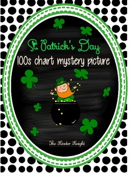 St. Patrick's Day 100s Chart Mystery Puzzle