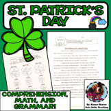 St. Patrick's Day NO PREP Math and Literacy Activities