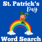 St. Patrick's Day Word Search | St. Patrick's Day Word Find