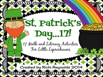St. Patrick's Day 17: 17 Math and Literacy Activities for Little Leprechauns