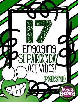 St. Patrick's Day Activity Poster