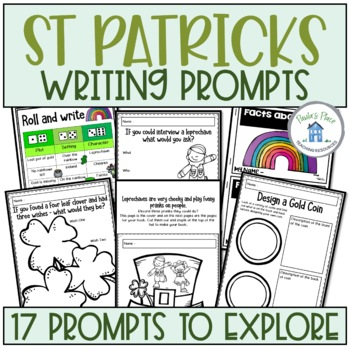 St Patrick's Day - 17 Writing Tasks