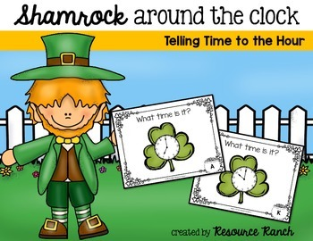St. Patrick's Day - Free TIME Task Cards
