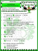 St. Patrick's Day Activities: Shamrock Facts Activity Packet