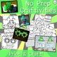 St. Patrick's Day Crafts, Read Aloud, Printables & More - No Prep Activities
