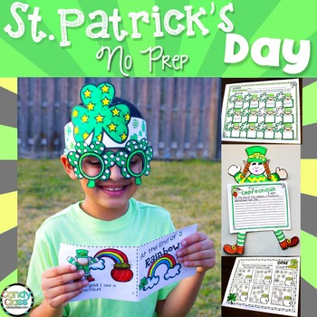 St. Patrick's Day No Prep with a Crown, Reading Comprehens