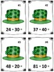 St. Patrick's Day 1st Grade Number Operations Math Centers Bundle (Common Core)