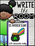 St. Patrick's Day Write the Room Center