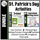 St Patrick's Day Activities * Ireland Country Study * Leprechaun Writing Center