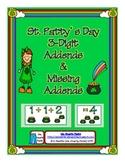 St. Patrick's Day 3 Addend Addition