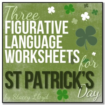 St Patrick's Day: 3 Figurative Language Activities