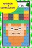St Patrick's Day Math Addition and Subtraction Leprechaun