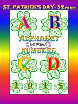 Alphabet - Numbers - Clip Art