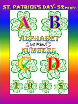 Alphabet - Numbers - Clip Art