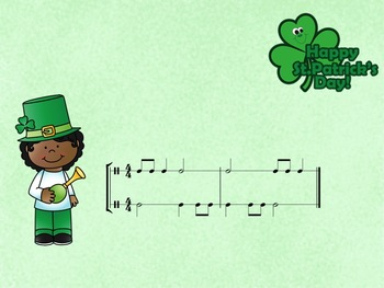 St Patrick's Day - A 2 Part Challenge featuring Ta, Ti-Ti, Z and Ta-a