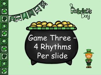 St Patrick's Day - A Fly-Swatting Game to Practice Quarter Rests