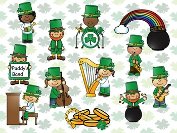 St Patrick's Day - A Game for Practicing Ta and Ti-Ti