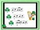 St Patrick's Day - A Game to Practice Ta, Ti-Ti and So and Mi (staff notation)