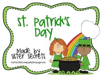 St. Patrick's Day: A Mini Unit
