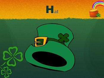 A-Z Green St. Patrick's Word PowerPoint