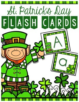 St. Patrick's Day ABC Flashcards