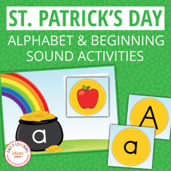 St. Patrick's Day ABC Match and Initial Sound Sort