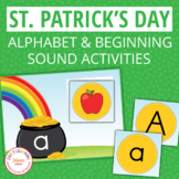 St. Patrick's Day Activities | Alphabet and Beginning Sound Sort