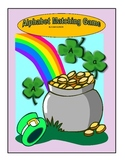 St. Patrick's Day ABC Matching Game