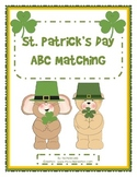 St. Patrick's Day ABC Matching - Uppercase and Lowercase