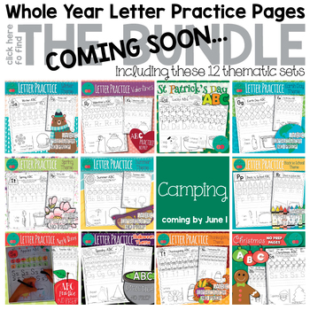 St Patrick's Day Letters Worksheets