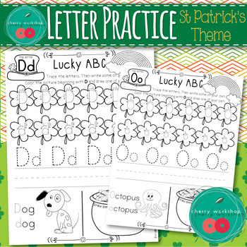 St Patrick's Day Letters