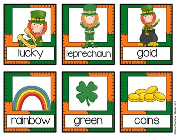 St. Patrick's Day ABC Order {Literacy Center}